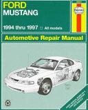 Ford Mustang 1994 Thru 1997