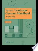 Spon s Landscape Contract Handbook