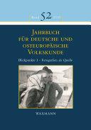 Blickpunkte I - Fotografien als Quelle zur Erforschung der Kultur der Deutschen im und aus dem östlichen Europa