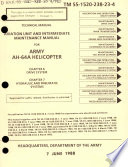 Aviation Unit and Intermediate Maintenance Manual for Army AH-64A Helicopter
