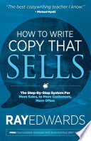 Ebook How to Write Copy That Sells Epub Ray Edwards Apps Read Mobile