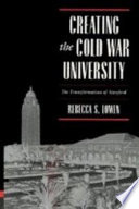 Creating the Cold War University