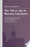 The Silver Age in Russian Literature