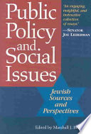 Public Policy and Social Issues