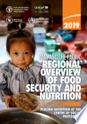 Asia And The Pacific Regional Overview Of Food Security And Nutrition 2019