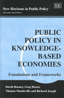 Public Policy in Knowledge-based Economies