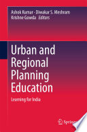 Urban and Regional Planning Education