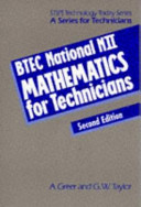 BTEC National N11 Mathematics for Technicians