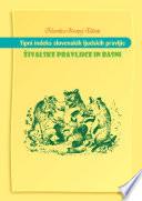 Tipni indeks slovenskih pravljic. Živalske pravljice in basni