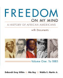Freedom on My Mind  Volume I