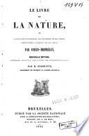Le livre de la nature