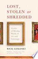 Lost Stolen Or Shredded