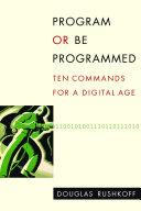 Book Program Or be Programmed