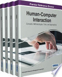 Human Computer Interaction  Concepts  Methodologies  Tools  and Applications