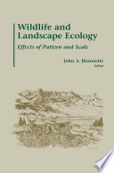 Wildlife and Landscape Ecology