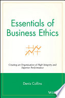 Essentials of Business Ethics