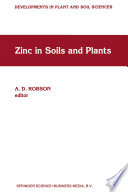 Zinc in Soils and Plants