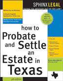 How to Probate   Settle an Estate in Texas
