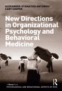 New Directions in Organizational Psychology and Behavioral Medicine