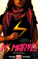 Ms. Marvel Volume 1: No Normal Book Cover