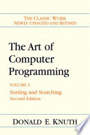 The Art of Computer Programming  Sorting and searching