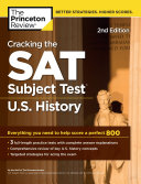 Cracking the SAT Subject Test in U S  History  2nd Edition