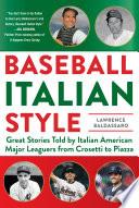 Baseball Italian Style