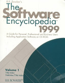 The Software Encyclopedia 1999