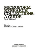 Microform Research Collections