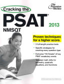 Cracking the PSAT NMSQT  2013 Edition