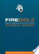 Fire Bible Niv Student book