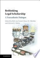 Rethinking Legal Scholarship