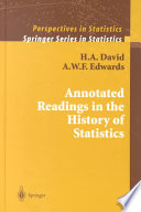 annotated readings in the history of statistics