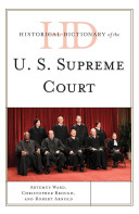 Historical Dictionary of the U S  Supreme Court