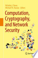 Computation  Cryptography  and Network Security