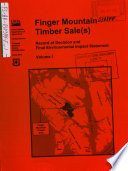 Tongass National Forest  N F    Finger Mountain Timber Sale s   Alaska