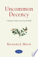 Uncommon Decency Book PDF