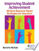 Improving Student Achievement 50 Research Based Strategies