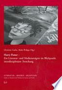 Harry Potter - ein Literatur- und Medienereignis im Blickpunkt interdisziplinärer Forschung