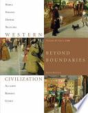 Western Civilization  Beyond Boundaries  Volume 2 Since 1560
