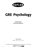 Kaplan GRE Psychology