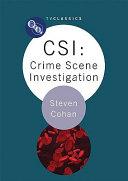 CSI  Crime Scene Investigation