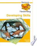 Nelson Handwriting Developing Skills Yellow Level