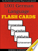 1 001  German Language Flash Cards
