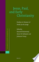 Jesus, Paul, and Early Christianity