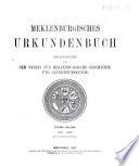 Mecklenburgisches Urkunden