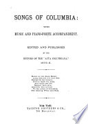 Songs of Columbia