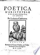 Poetica d Aristotele