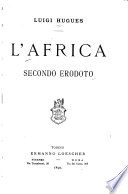 L Africa secondo Erodoto