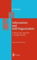 Information and Self organization